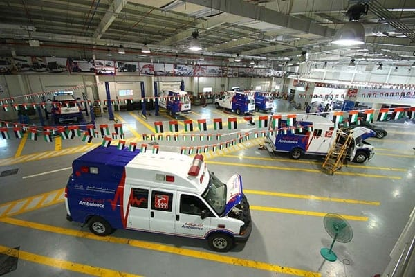 Dubai Association for Ambulance Services 2 min