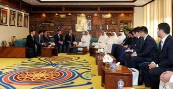 Lootah receives Kazakh delegation