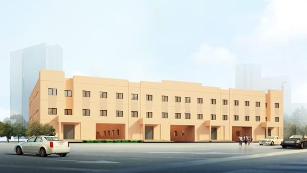 Labor Accommodation at Warsan 3rd. Phase 1