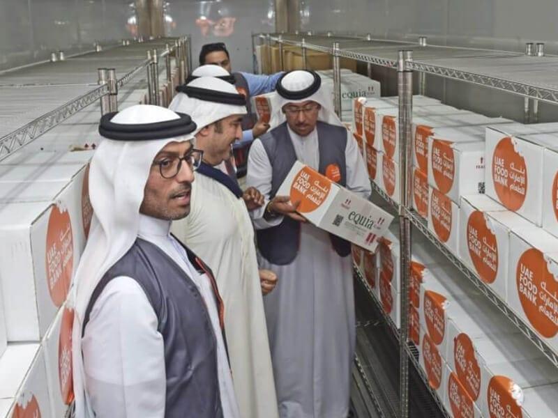 uae food bank messages