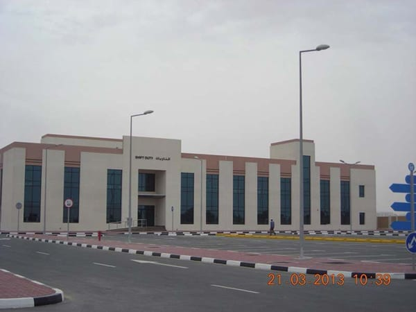 Transport and Rescue Buildings Complex Dubai police 2nd Phase 3