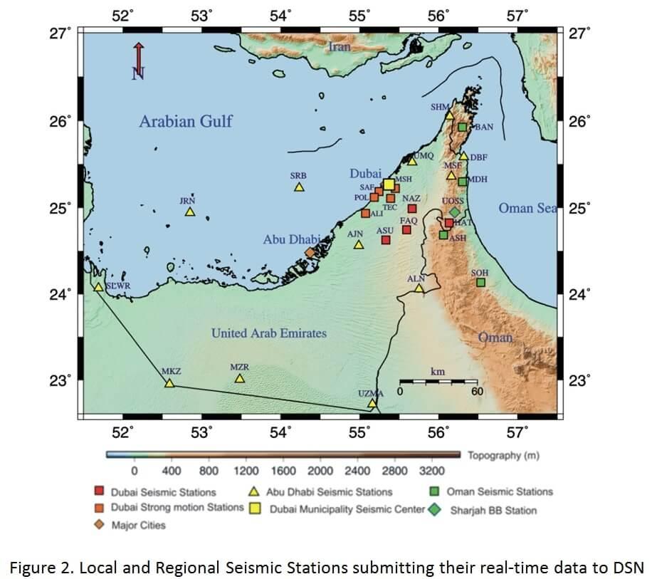 Installation of Dubai Seismic Network figure 2
