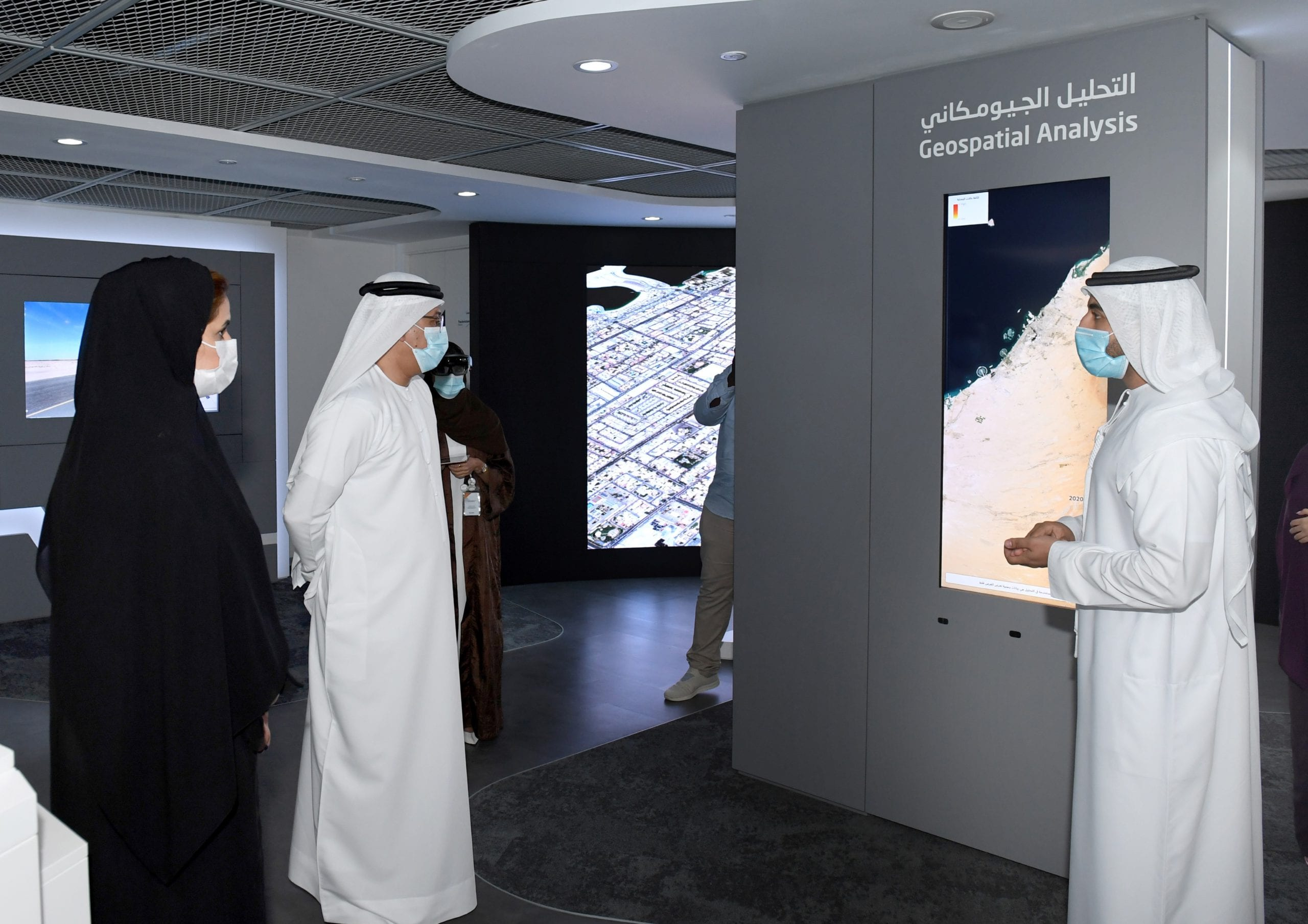 Al Hajri reviews Dubai Municipality's new GIS Center services